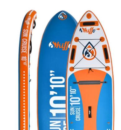 """Skiffo Sun Cruise 10'10""""- 32"""" - oranžová/modrá"""