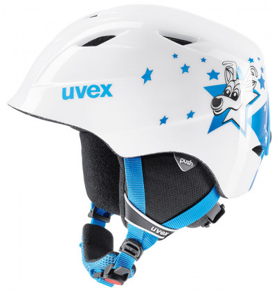 Uvex Airwing 2 - bílá/modrá