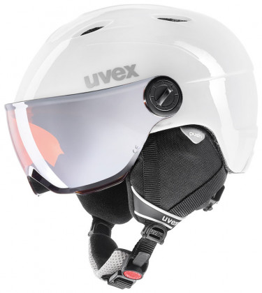 Uvex Junior Visor Pro - bílá