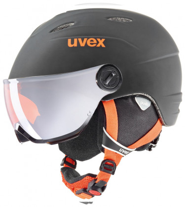 Uvex Junior Visor Pro - černá/oranžová