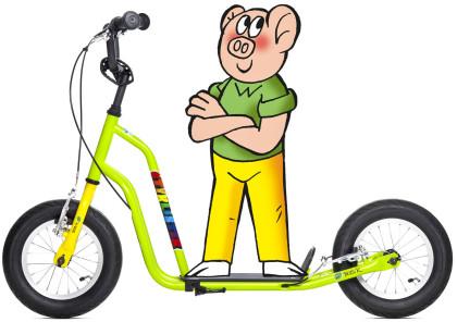 Yedoo Čtyřlístek Maxi Bobík - zelená