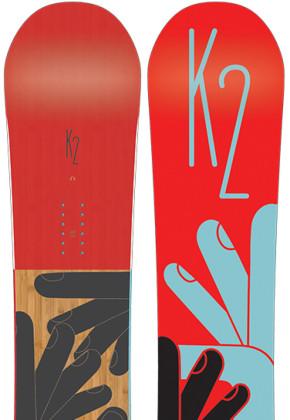 K2 Snowboarding Fastplant
