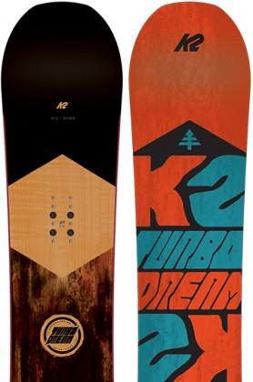 K2 Snowboarding Turbo Dream Wide
