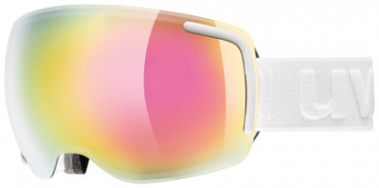 Uvex lyžařské brýle Big 40 FM - bílá mat