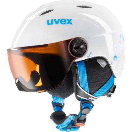 Uvex Junior Visor - bílá