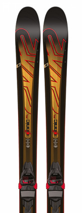K2 iKonic 80 + M3 10 - testovací lyže