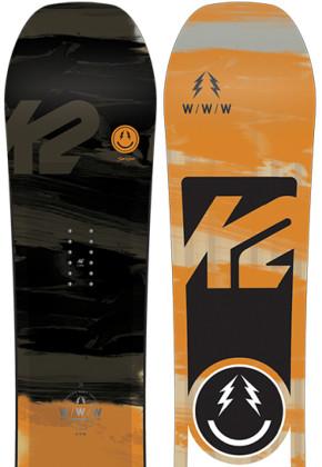 K2 Snowboarding WWW Wide