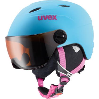 Uvex Junior Visor Pro - modrá