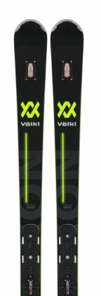 Völkl Deacon 76 Pro Black + WC Plate + Race Xcell 16