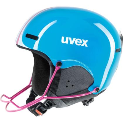 Uvex Hlmt 5 Junior Race - modrá
