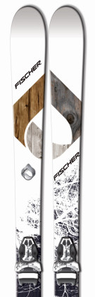 Fischer Watea 96 + XTR12 - testovací lyže