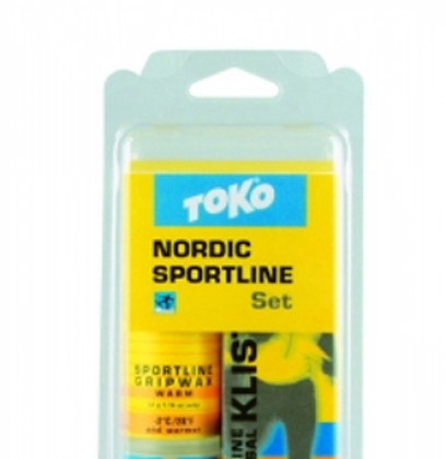 TOKO Nordic Sportline Set - sada vosků