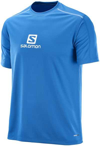 triko Salomon Stroll Logo Short Sleeve Tee » LyzeLyze.cz a693e1754d