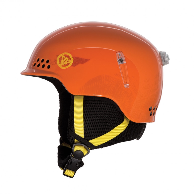 Juniorská lyžařská helma K2 Illusion orange