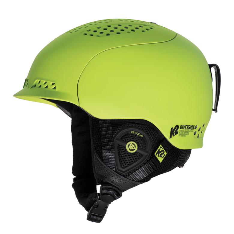 Lyžařská helma K2 Diversion zelená