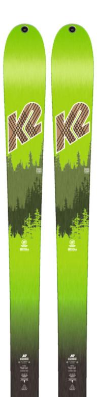 skialpové lyže K2 Wayback 88 ECOre