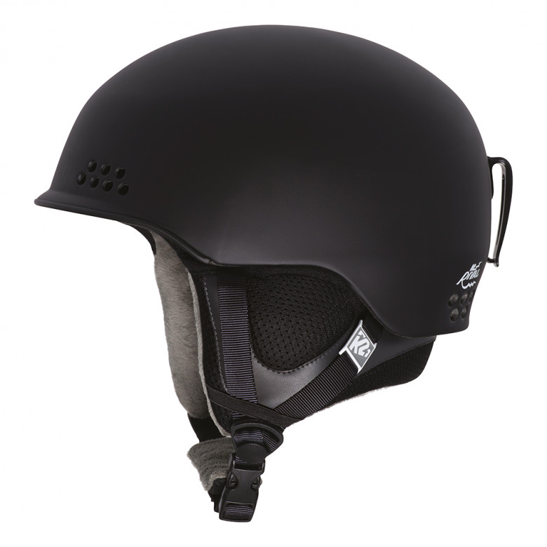 lyžařská helma K2 Rival černá