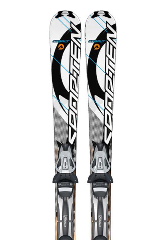 sjezdové lyže Sporten Cobalt orange