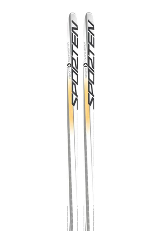 běžecké lyže Sporten Favorit - stříbrná
