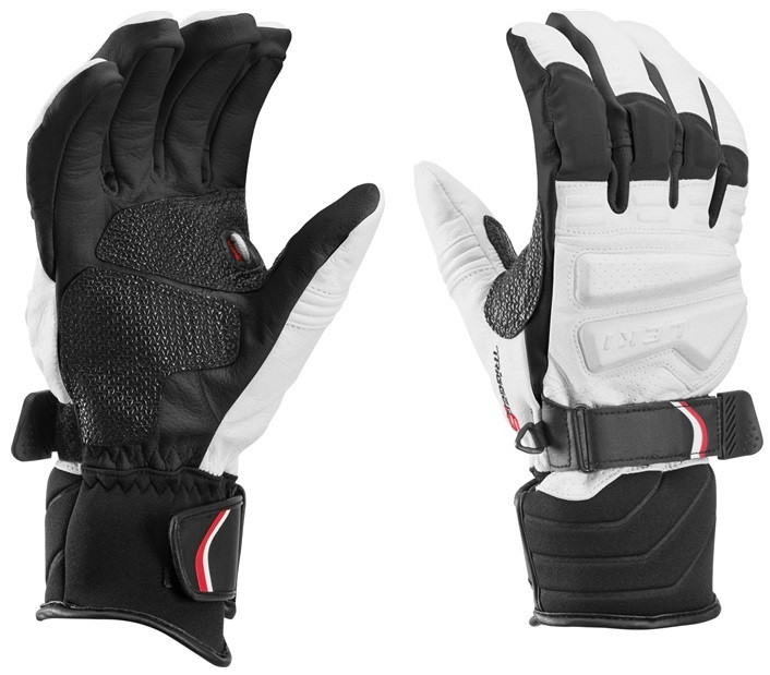 Leki Griffin Pro S white-black - bílé