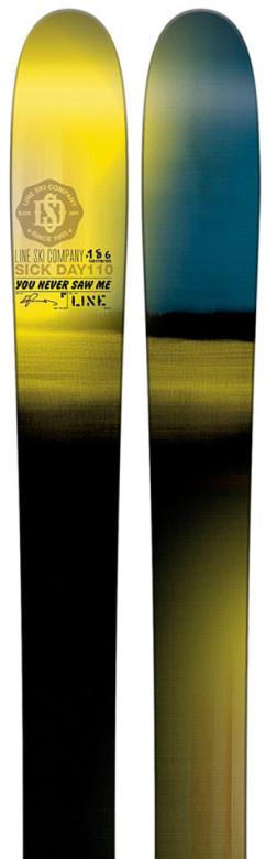 freeride lyže Line Sick Day 110
