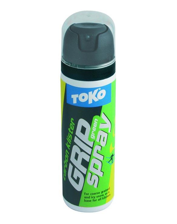klister TOKO Carbon GripSpray Baseklister green