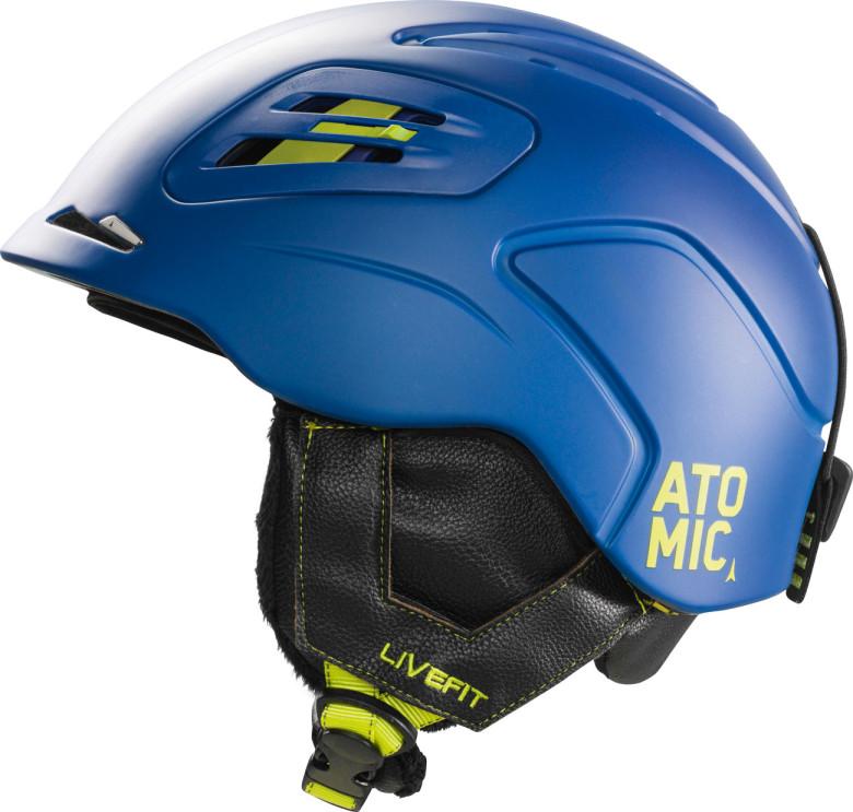 lyžařská helma Atomic Mentor LF modrá