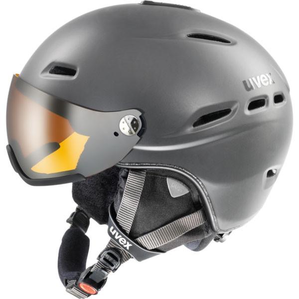 lyžařská helma Uvex Hlmt 200 antracit