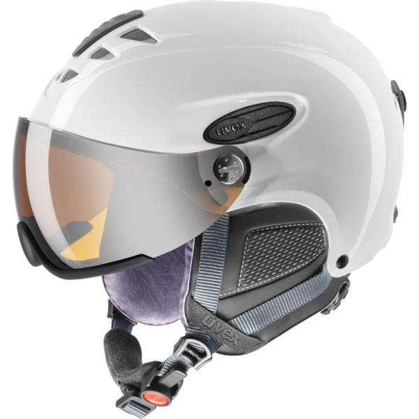 lyžařská helma Uvex Hlmt 300 bílá