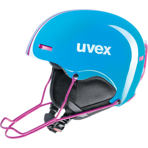 lyžařská helma Uvex Hlmt 5 Race modrá