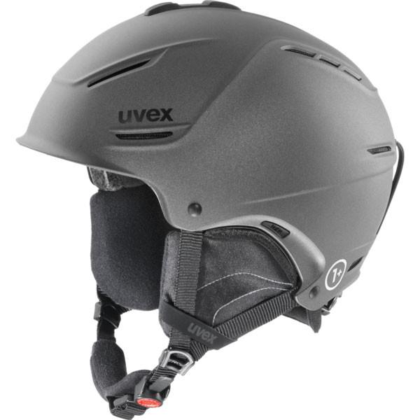 lyžařská helma Uvex P1US antracit
