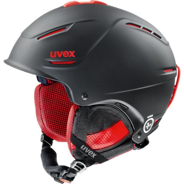 lyžařská helma Uvex P1US Pro černá