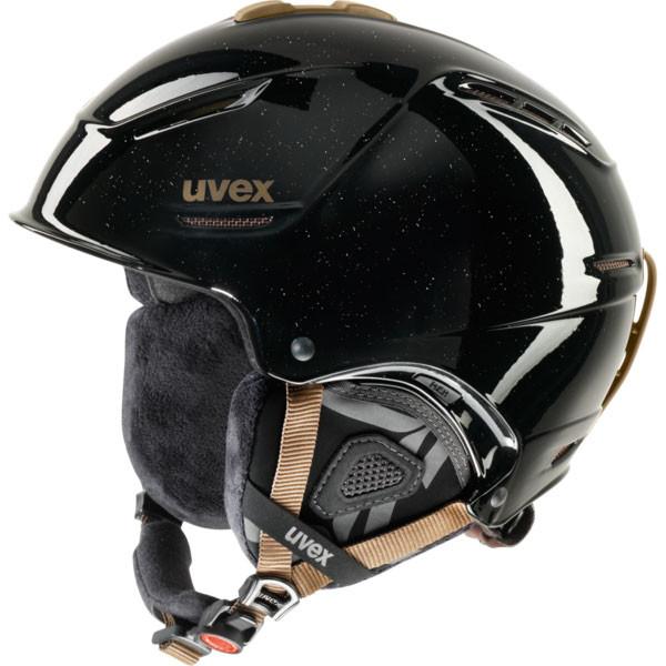 dámská lyžařská helma Uvex P1US Pro WL černá