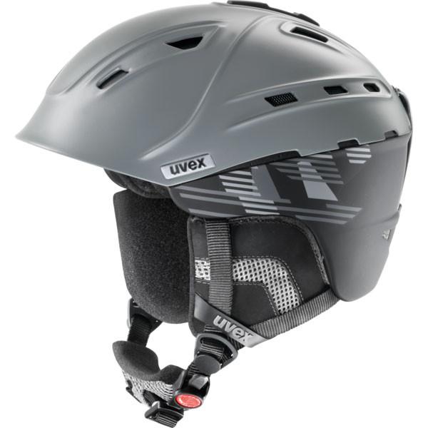 lyžařská helma Uvex P2US antracit