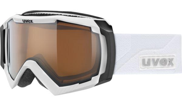 lyžařské brýle UVEX Apache 2 VP bílá