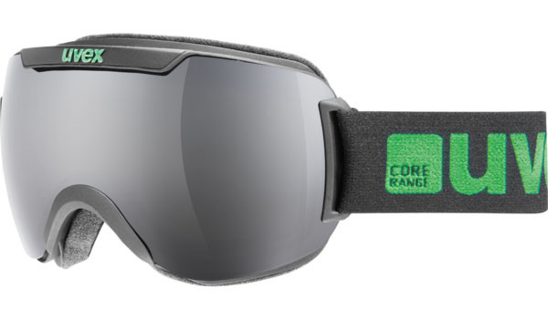 lyžařské brýle UVEX Downhill 2000 černá/zelená
