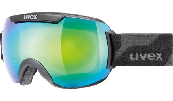 lyžařské brýle UVEX Downhill 2000 černá matná