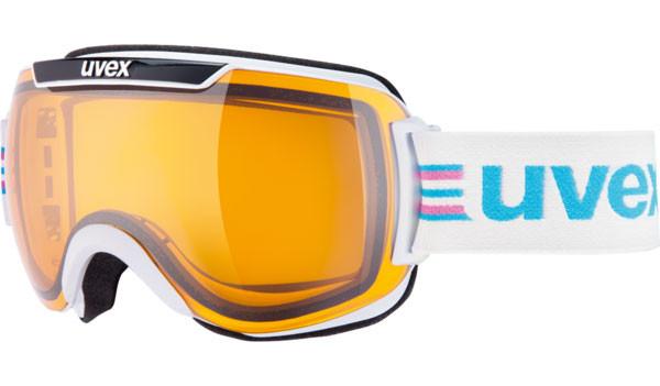 lyžařské brýle UVEX DOWNHILL 2000 Race bílá