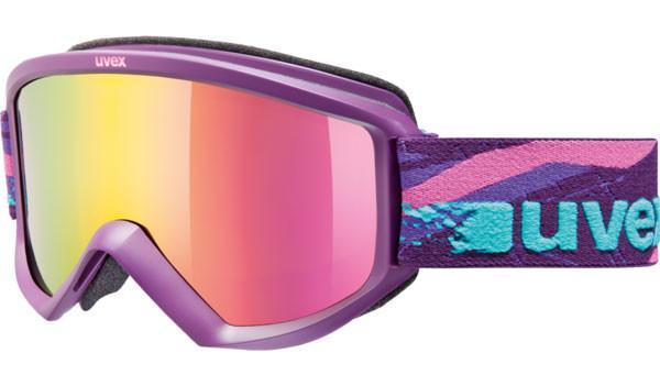 lyžařské brýle Uvex Fire LTM fialová
