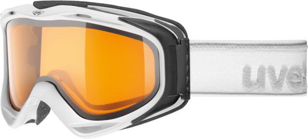 lyžařské brýle UVEX G.GL 300 bílá