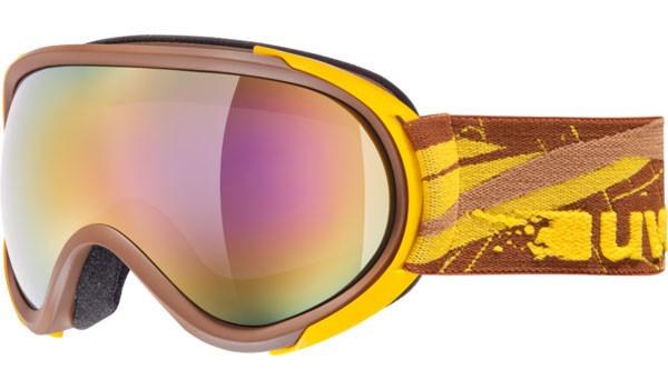 lyžařské brýle Uvex G.GL 7 hnědá