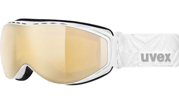 lyžařské brýle UVEX HYPERSONIC CX bílá