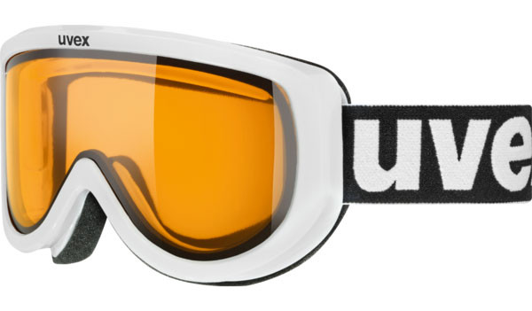 lyžařské brýle UVEX RACER bílá