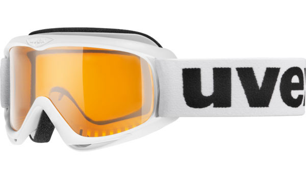 lyžařské brýle Uvex Snowcat bílá