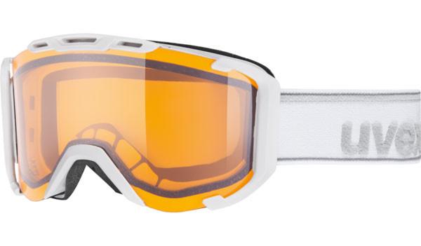lyžařské brýle Uvex Snowstrike LGL bílá