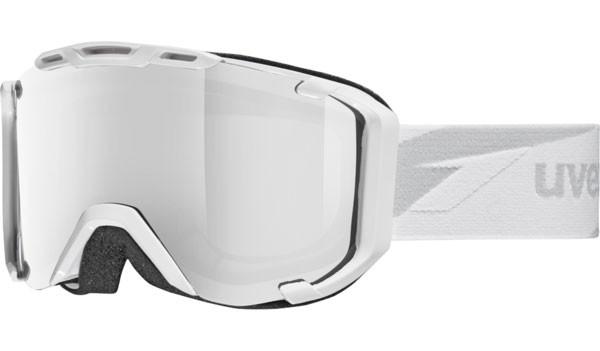 lyžařské brýle Uvex Snowstrike VM bílá