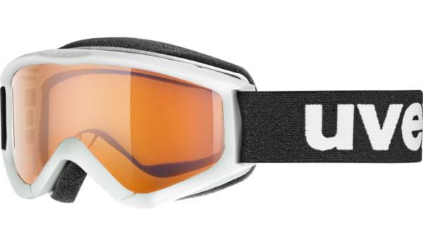 lyžařské brýle Uvex Speedy Pro bílá