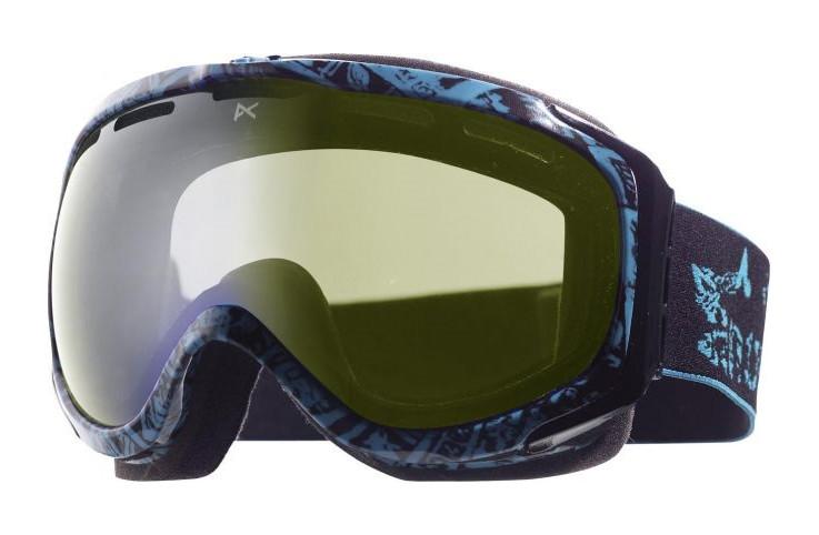 lyžařské brýle Anon Hawkeye Printed 12 modrá detail