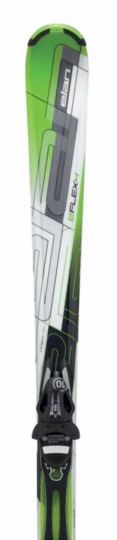 sjezdové lyže Elan E/Flex 4 Green Plate