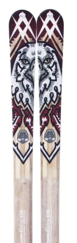 skialpové lyže Völkl Inuk - detail